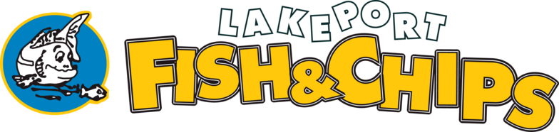 Fish and Chips Logo http://www.lakeportfishandchips.com/